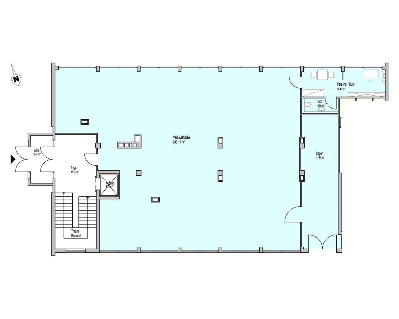 Nr. 01 - EG - 292,91 m² - Kauf oder Miete