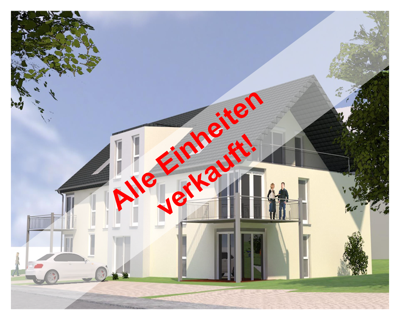 Konz-Berendsborn: Neubau eines Mehrfamilienwohnhauses