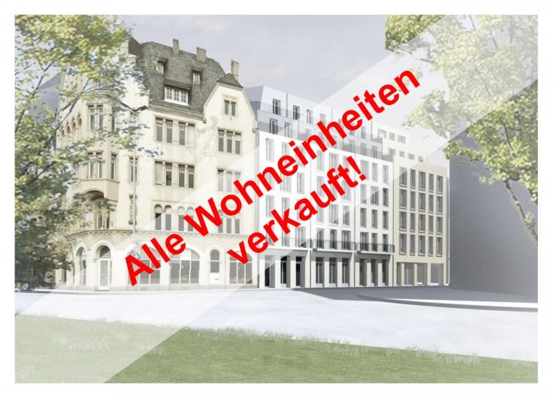 Trier-Zentrum: sanierter Altbau – Wohnen und Arbeiten mit Blick auf die Porta Nigra