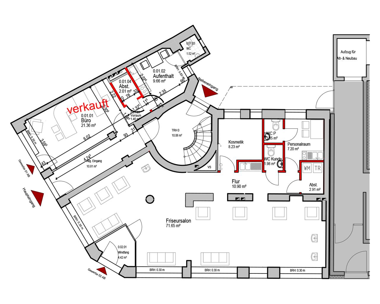 Nr. 02 - EG - 110,21 m² - 363.000,- €