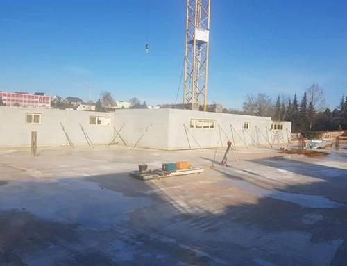 """Residenz """"Route de Mondorf"""" – Stand der Bauarbeiten"""