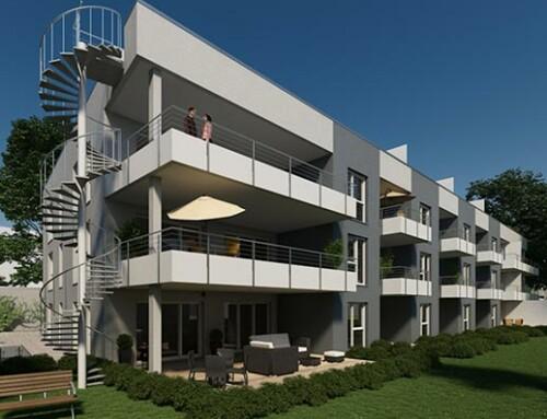 Penthouse-Wohnung in unmittelbarer Nähe zur Porta Niga