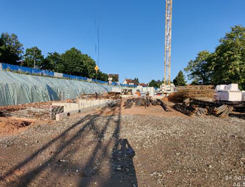 Baubeginn in Dudweiler