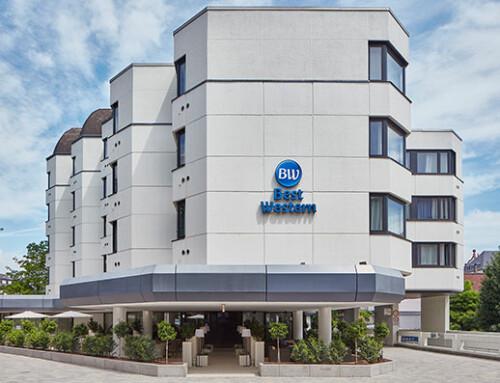 Neue Lounge-Terrasse für das Best Western Hotel Trier